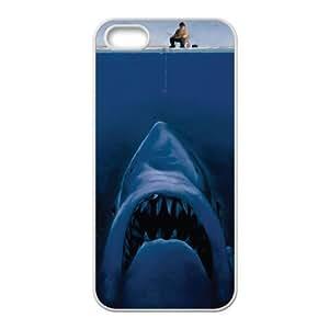 Customized case Of Deep Sea Shark Hard Case for iPhone 5,5S