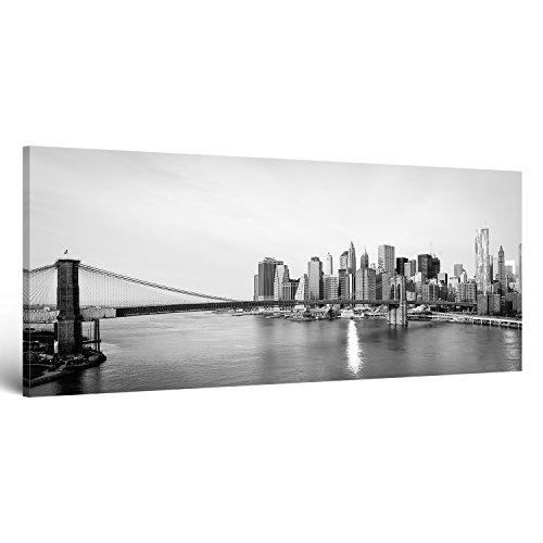 ge-Bildet® Leinwandbild mit Neueröffnungsrabatt Stadtbilder Panorama