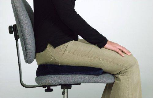 Relaxobak Deluxe Dual Density Orthopedic Wedge Seat