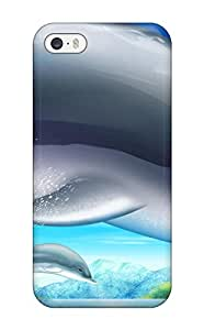Nicol Rebecca Shortt's Shop Best Premium Protective Hard Case For Iphone 5/5s- Nice Design - Dolphins 9623556K69839609