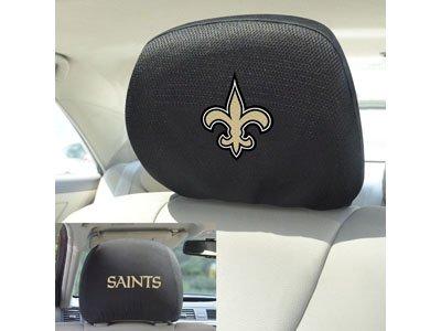 FANMATS 12507 Head Rest Cover NFL (New Orleans Saints)