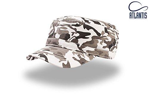 visera talla única unisex Uniform Camo Atlantis Gorra White wpqHpnFO