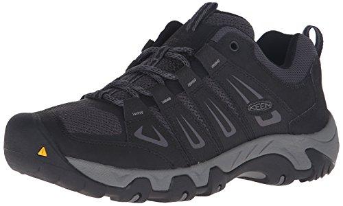 Keen Mesh Cap (KEEN Men's Oakridge Shoe, Black/Gargoyle, 7 M US)