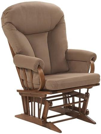 Enjoyable Dutailier Ultramotion Bow Back Glider Rocker Cocoa Lamtechconsult Wood Chair Design Ideas Lamtechconsultcom