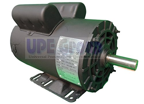 5HP 21 Amp 3450 RPM Electric Motor For Air Compressor 56 Frame 7/8