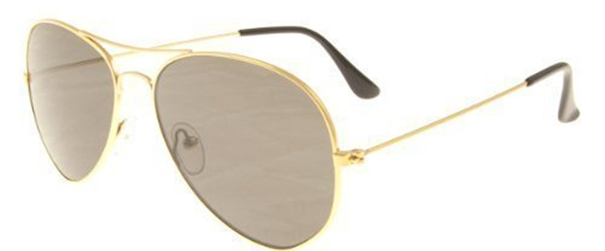 Klein Polarisiert Erwachsene Mini Aviator Sonnenbrille mit Gold ...