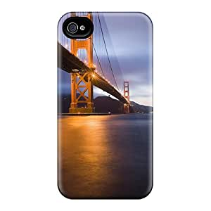 Hot Covers Cases For Iphone/ 5/5s Cases Covers Skin - Golden Gate Bridge San Fransisco
