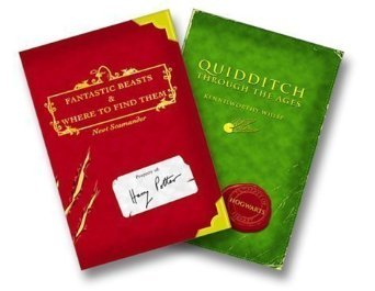 Harry Potter Schoolbooks: Quidditch Through the Ages and Fantastic Beasts and Where to Find Them by Scholastic