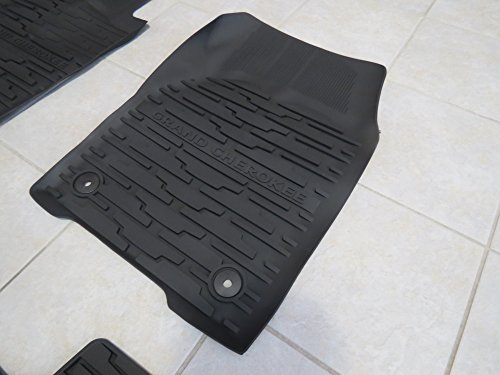 Jeep Grand Cherokee Rubber Slush Floor Mats Amp Cargo Tray