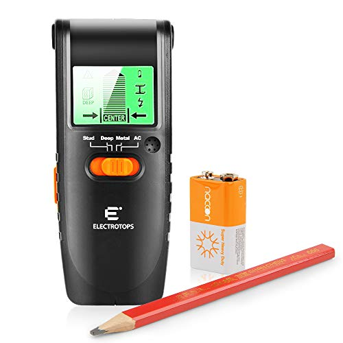Stud Finder Wall Scanner with Large LCD Display, 3 in 1 Electric Multi Function Wall Detector Finders -
