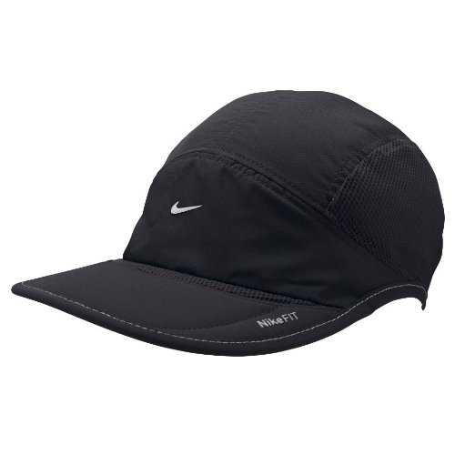 hot product factory price quite nice Amazon.com: Nike Dri-Fit Running Cap - One - Black: Clothing