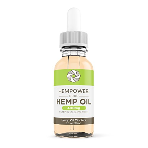 Hempower 400mg Pure Hemp Oil Tincture