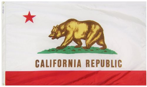 Annin Flagmakers Model 140460 California State Flag 3x5 ft.
