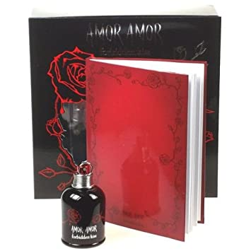 CACHAREL AMOR AMOR FORBIDDEN KISS EDT 50 ML REGALO LIBRETA: Amazon.es: Belleza