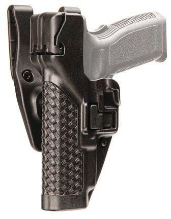 Blackhawk Serpa Level 3 Duty Basket Weave Gun Holster, Right Hand, (Springfield XD / XDM)