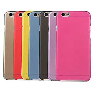 iPhone 6 Plus compatible Transparent Back Cover , Yellow