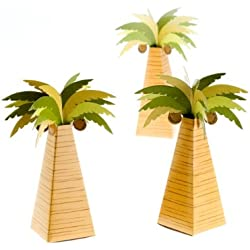 Kate Aspen 28055NA Palm Tree Favor Box
