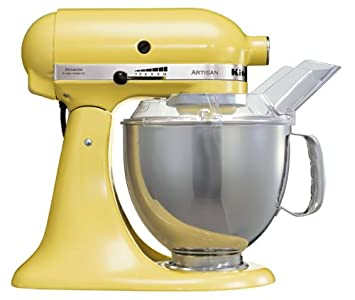 KitchenAid Artisan KSM150BMY Stand Mixer Yellow