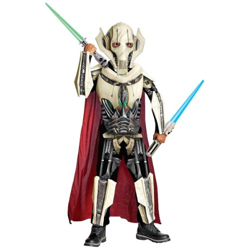 [Deluxe General Grievous Costume - Medium] (Star Wars General Grievous Child Costumes)