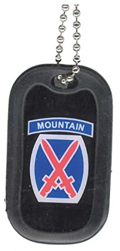 United States Army 10th Mountain Unit Division Rank Logo Sym