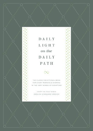 Daily Light For My Daily Path in US - 1