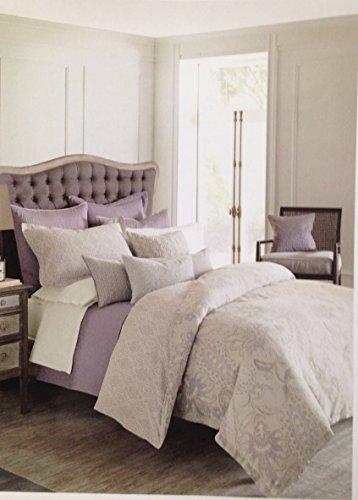 Bloomingdale's 1872 Harlow 2 Linen/Cotton Blend Crochet Lace Trim Standard Pillowcases,Ivory (Crochet Pillowcase)