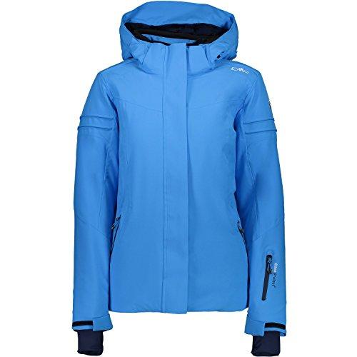 3w01476 Stretch Campagnolo Giacca Azzurro Sci Cmp Donna SwIqvXwz