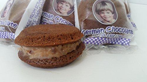 12 Itty Biti German Chocolate Cakes