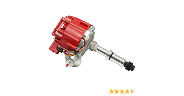 Dragon Fire High Performance Race Series Complete HEI Electronic Ignition Distributor Compatible Replacement For Buick Small Block 300 340 350 Oem Fit DB8-DF
