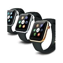 533MAH MTK2502C Bluetooth 4.0 Smart Watch(Sapphire Glass, Pedometer, Heart Rate, Waterproof, Anti-lost) , gold