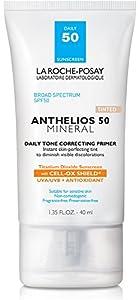La Roche-Posay Anthelios Sunscreen Face Primer with SPF 50, 1.35 Fl. Oz.