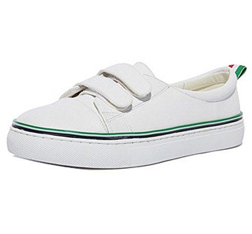 Green Walking Urethane Shoes Womens Loop And Ladola Cushioning Flatform Waterproof Hook FwvnfOxq
