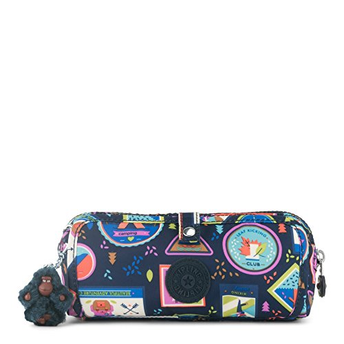 Kipling Women's Wolfe Printed Pencil Pouch One Size Wandering Roads by Kipling