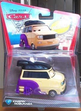 - Kingpin Nobunaga Mattel Cars Made of Best Material , Toys Car Model , Size 11 Cm