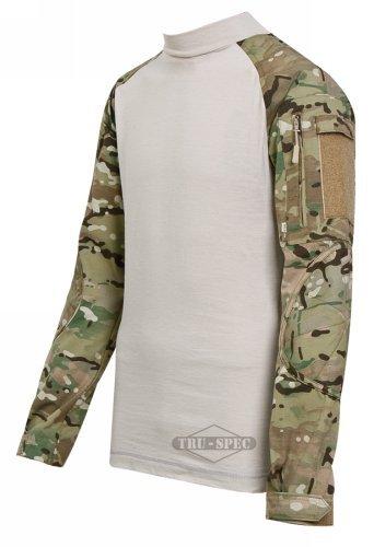 Tru-Spec Woodland DigitalTactical Response Combat Shirt -...