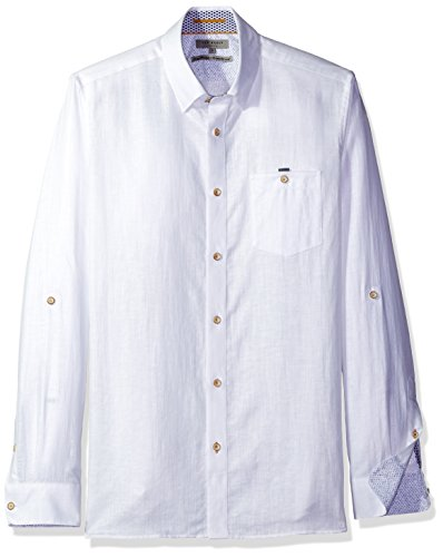Ted Baker Shirt Laavato in White