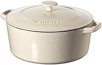 Cuisinart 7 quart Casserole Cast Iron