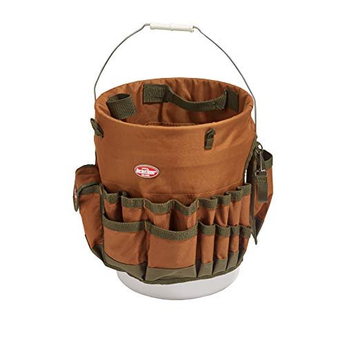 (Bucket Boss The Bucketeer Bucket Tool Organizer in Brown, 10030)