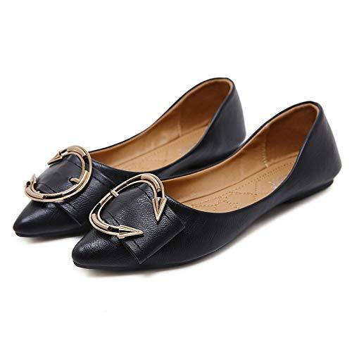 FLYRCX da incinte da morbida ballo scarpe A donne a fondo punta scarpe basse confortevole superficiale scarpe pieghevoli Moda lavoro singole scarpe rAwvqr