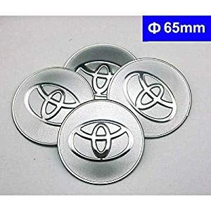4pcs 65mm Toyota Logo Car Styling Accessories Emblem Badge Wheel Hub Caps Centre Cover Sticker Fit For Toyota Car Model