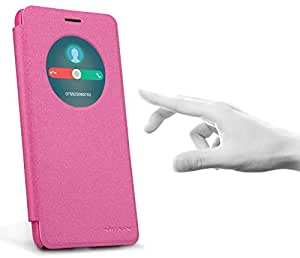 Asus Zenfone 5 Lite(A502CG) NEW LEATHER CASE [Pink Color]