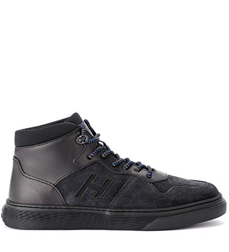 Hogan Sneaker H365 Basket in Pelle e camoscio Nera Nero Moda En Línea Barata Comprar Compra Barata 3k32jv