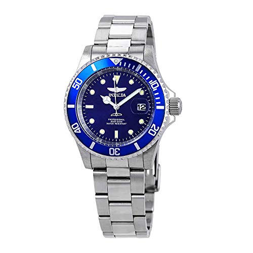 Invicta Men's 26971 Pro Diver Quartz 3 Hand Blue Dial Watch