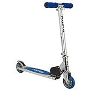 Amazon.com: Razor A Kick Patinete – Plata y azul – niños ...