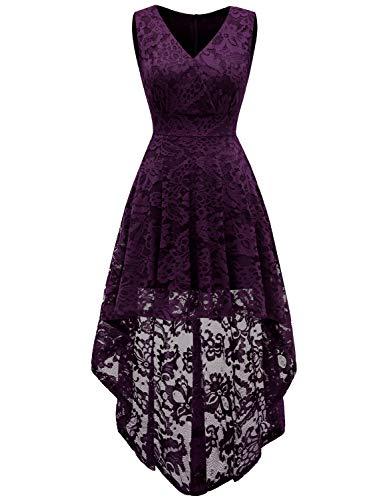 Dressystar-Womens-Sleeveless-Hi-Lo-Lace-Bridesmaid-Dress-Cocktail-Party-Dress