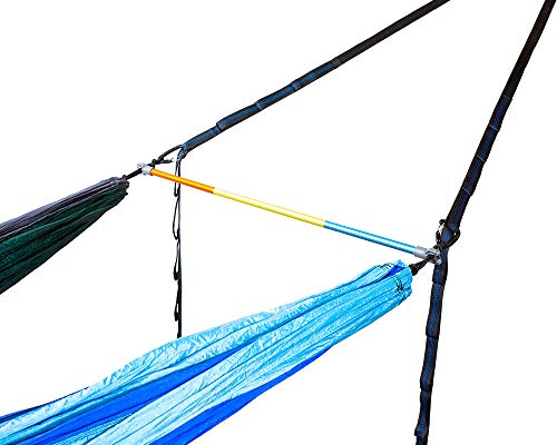 ENO - Eagles Nest Outfitters Fuse Tandem Hammock System, Retro Tri