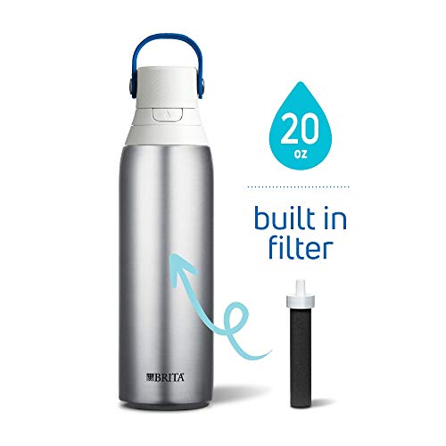 Brita 20 Ounce Premium Filtering Water Bottle with Filter BPA