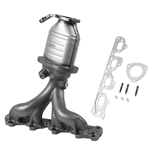 Emissions Converter Catalytic (Catalytic Converter w/Exhaust Manifold for Chevy For Malibu For Pontiac G6 For Saturn For Aura 2.2-2.4)
