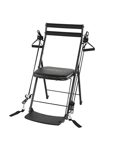 Chair Gym Total Body Workout Chair Gym, Black by Chair Gym