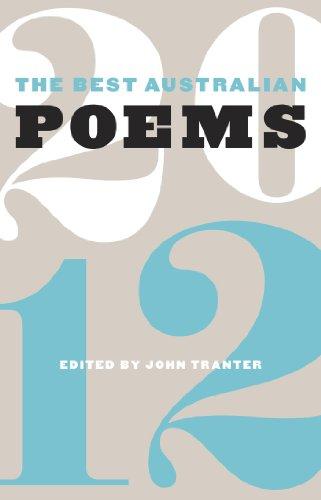 (The Best Australian Poems 2012)